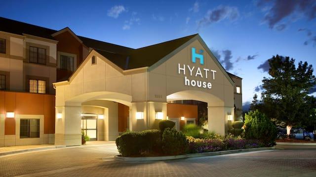 Hyatt House exterior view