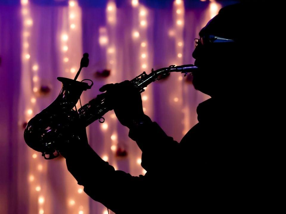 Jazz Player Hyatt Regency New Orleans