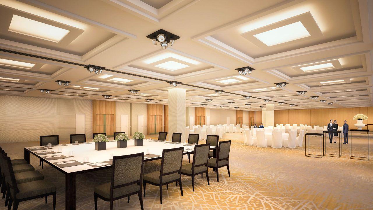 Ballroom 3D Rendering