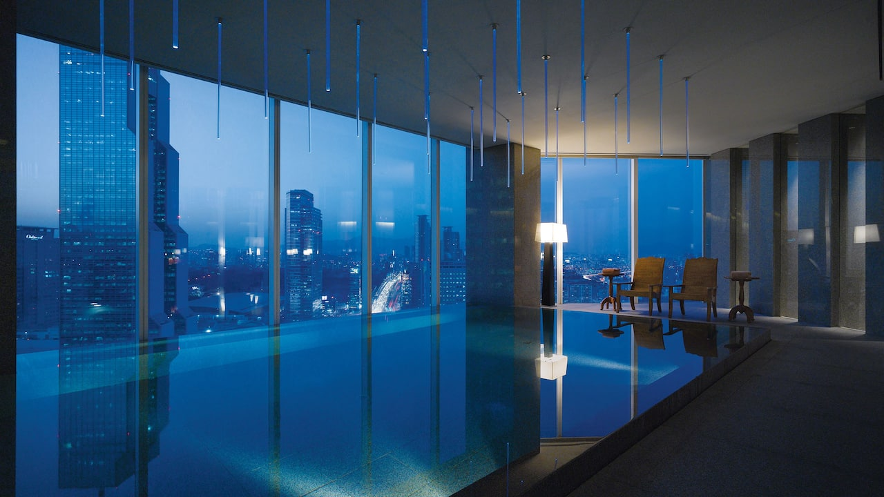 Park Hyatt Seoul Infinity Swimming Pool