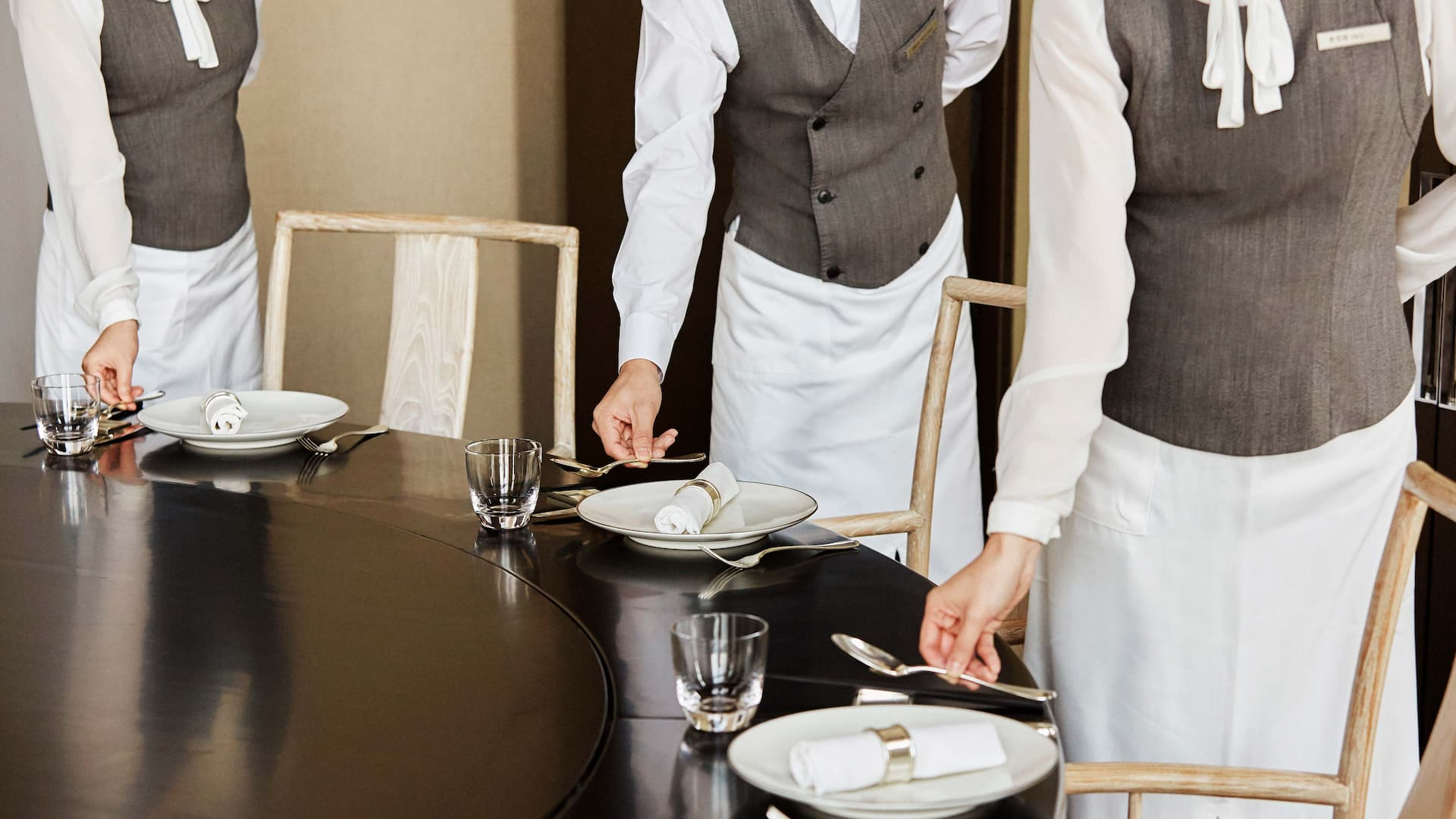 Dining at Grand Wuji Hotel