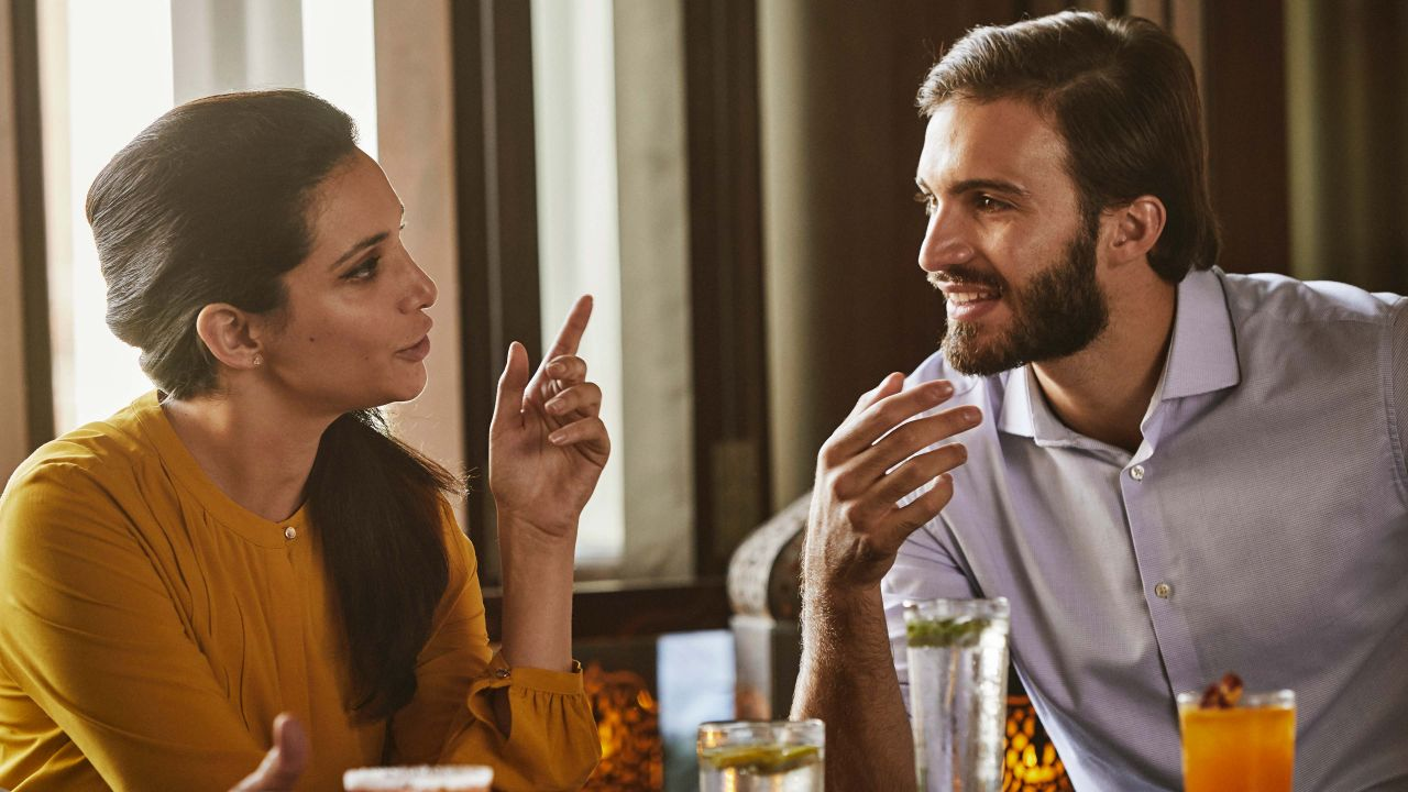 Lifestyle Food and Beverage Couple Dining