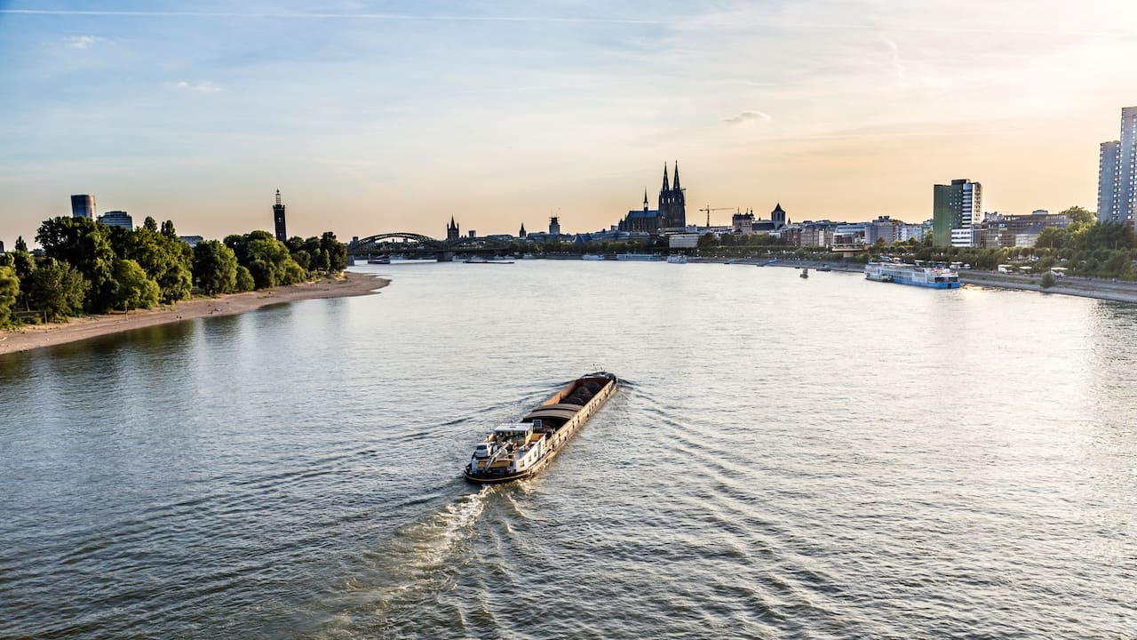 Ausflüge am Rhein in der Nähe vom Hyatt Regency Köln