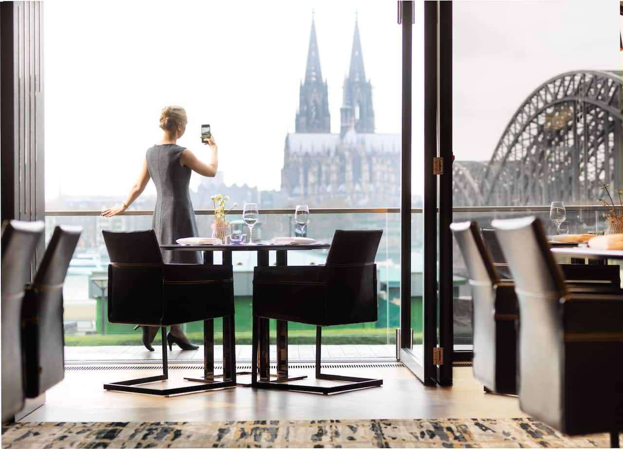 Private Dining Room at Hyatt Regency Cologne