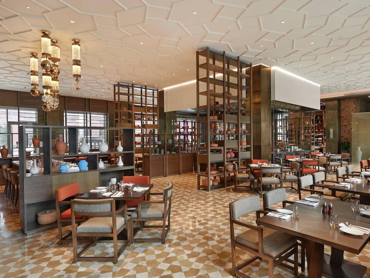 Khiva Restaurant Seating