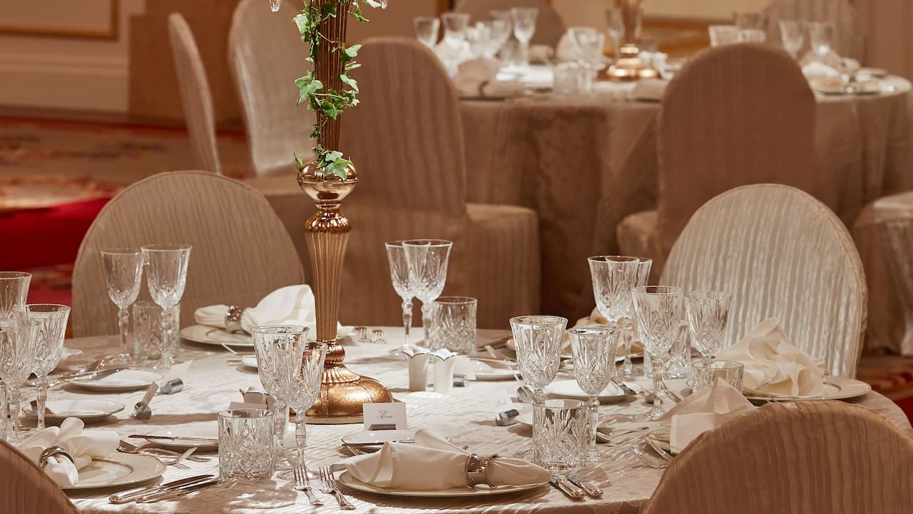 Wedding Banquet Ballroom at Park Hyatt Saigon, Vietnam