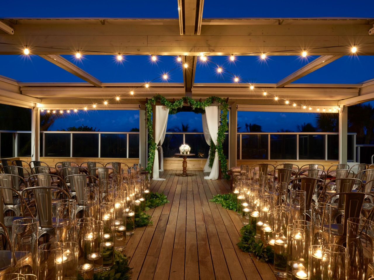 Outdoor Wedding Venue in Miami Beach at The Confidante Miami Beach