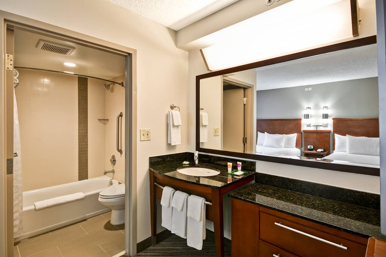 Bathroom at Hyatt Place Dallas-North by the Galleria