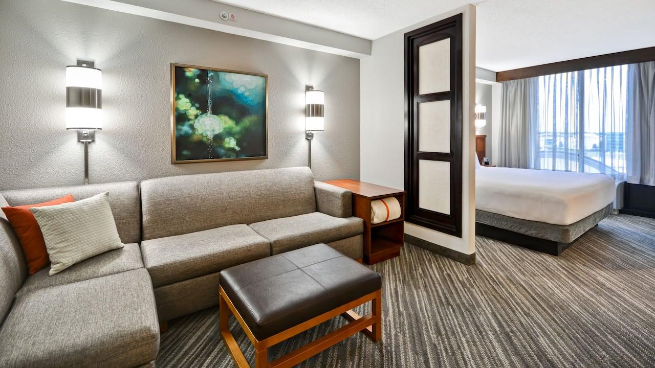 Hyatt Place Baton Rouge I-10 High Floor King Room