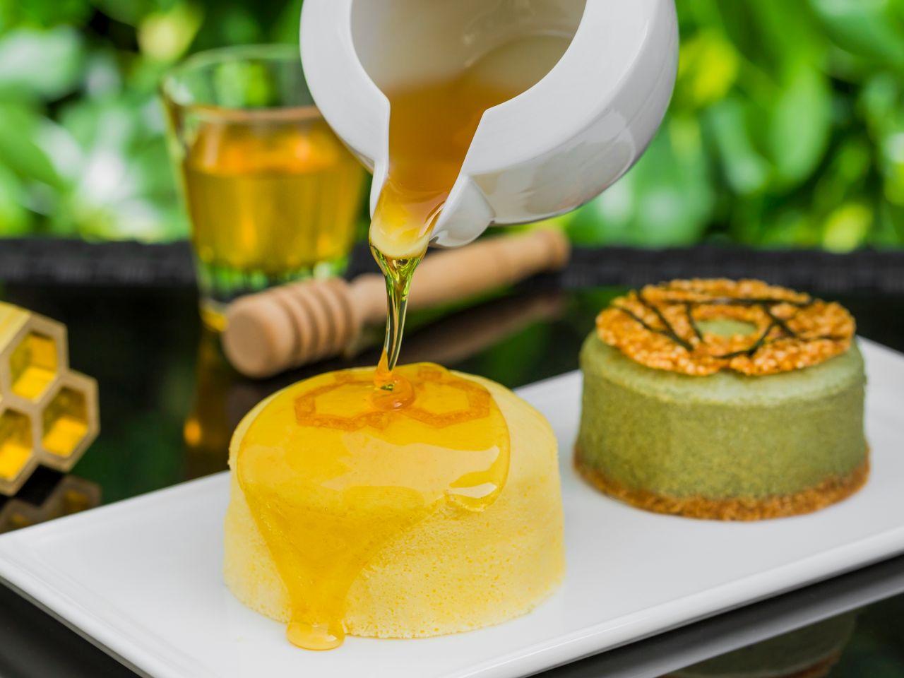 Honey Cheesecake with Honey
