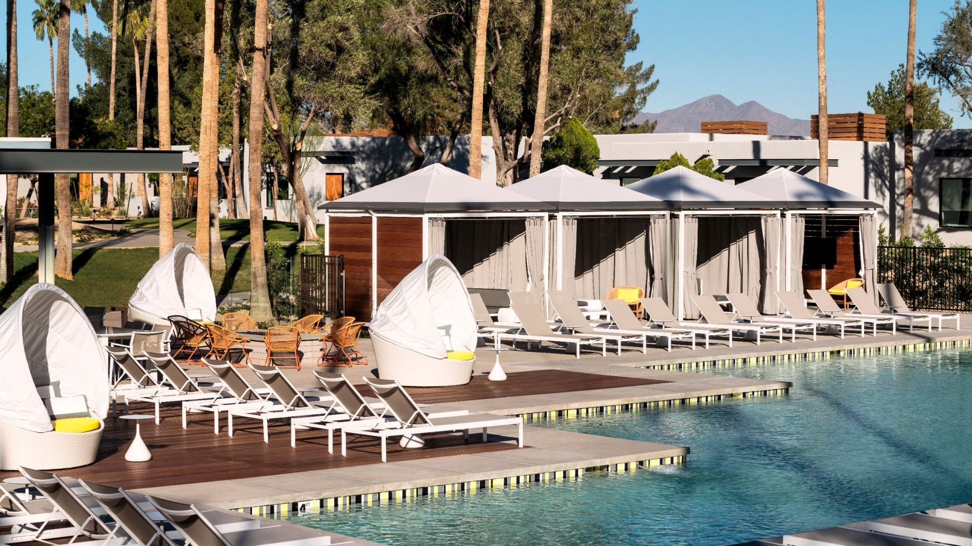 Andaz Scottsdale Resort & Bungalows – Pool Cabanas
