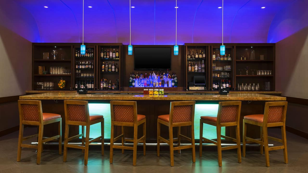 Hyatt Place West Palm Beach Downtown Bar Chairs