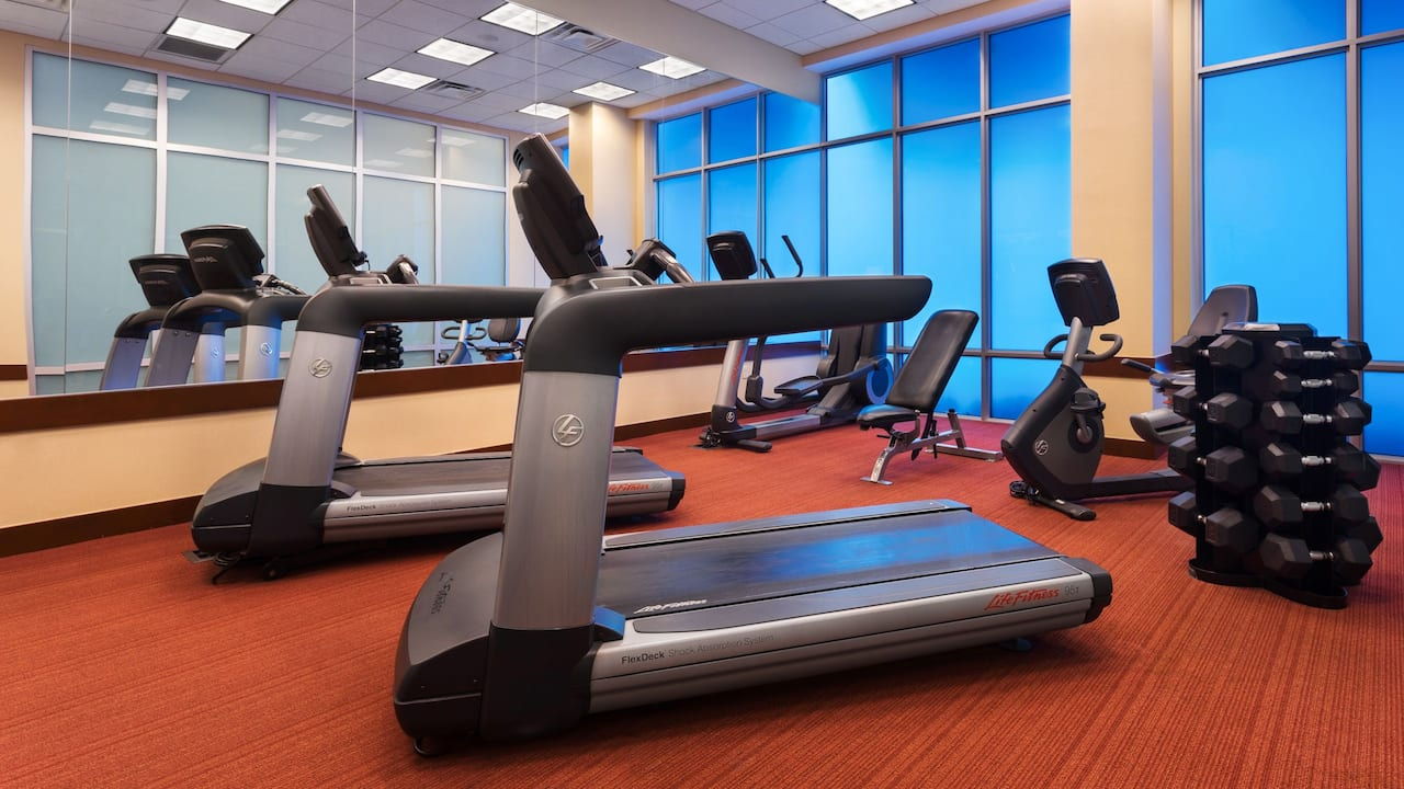 Hyatt Place West Palm Beach Downtown 24 Hour Fitness Center