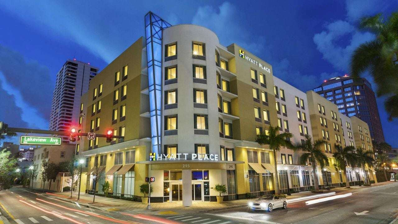 Hyatt Place West Palm Beach Downtown Exterior