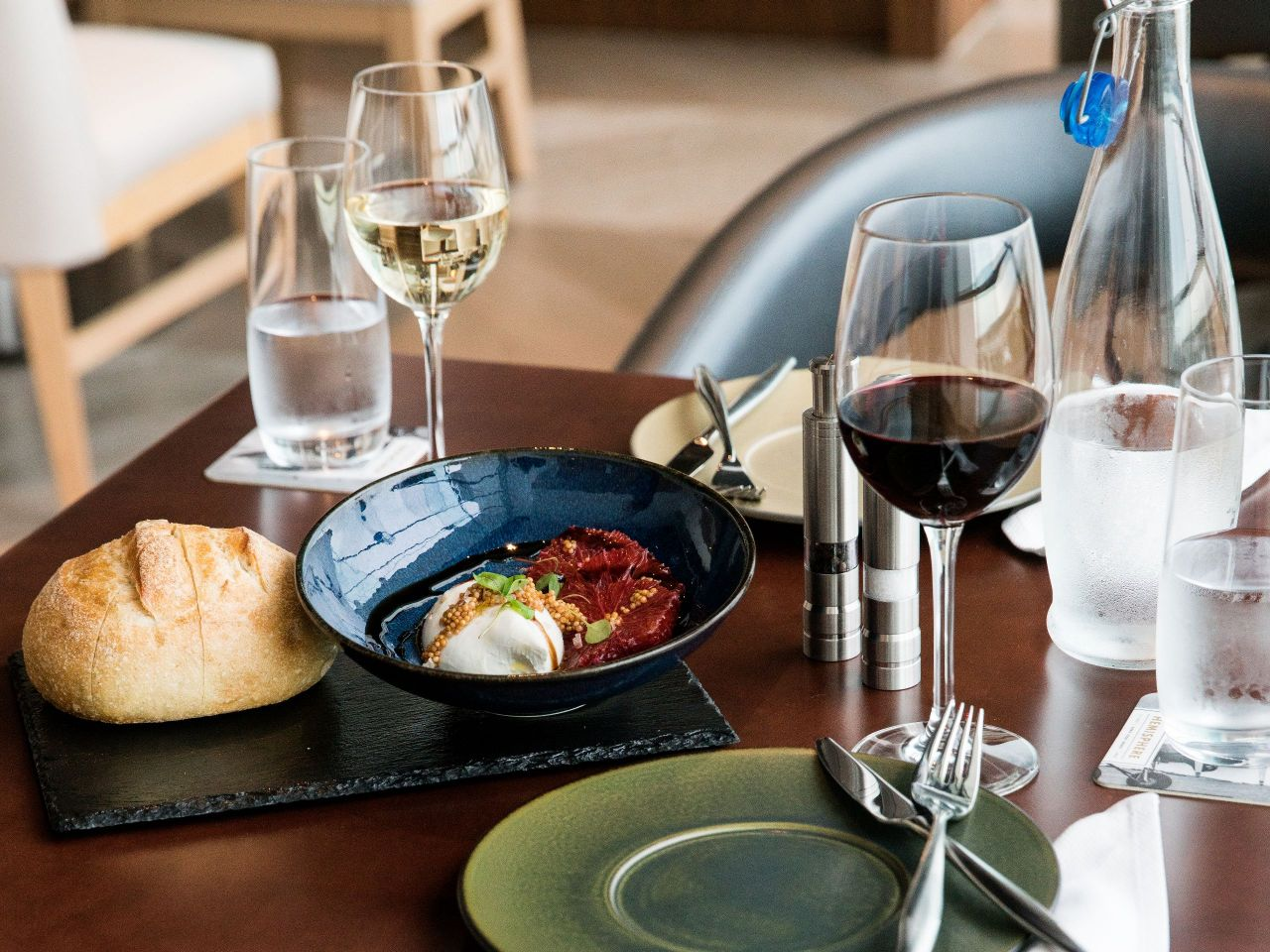 Hemisphere restaurant - Burrata mozzarella