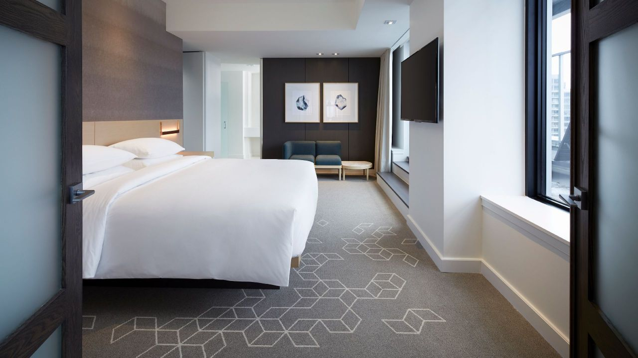 Andaz Ottawa Byward Market | Presidential Suite Master Bedroom