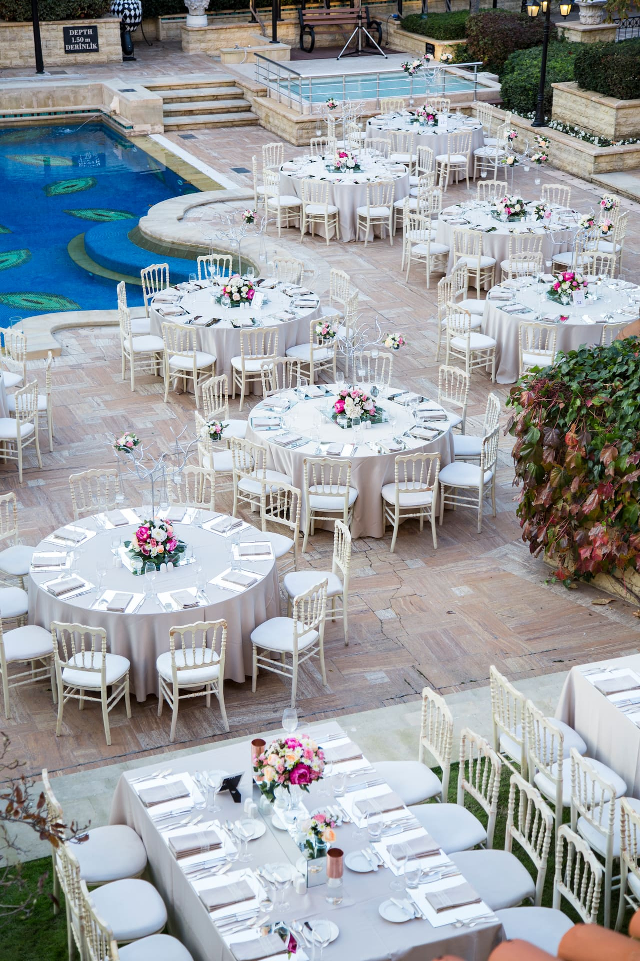 Pool Wedding