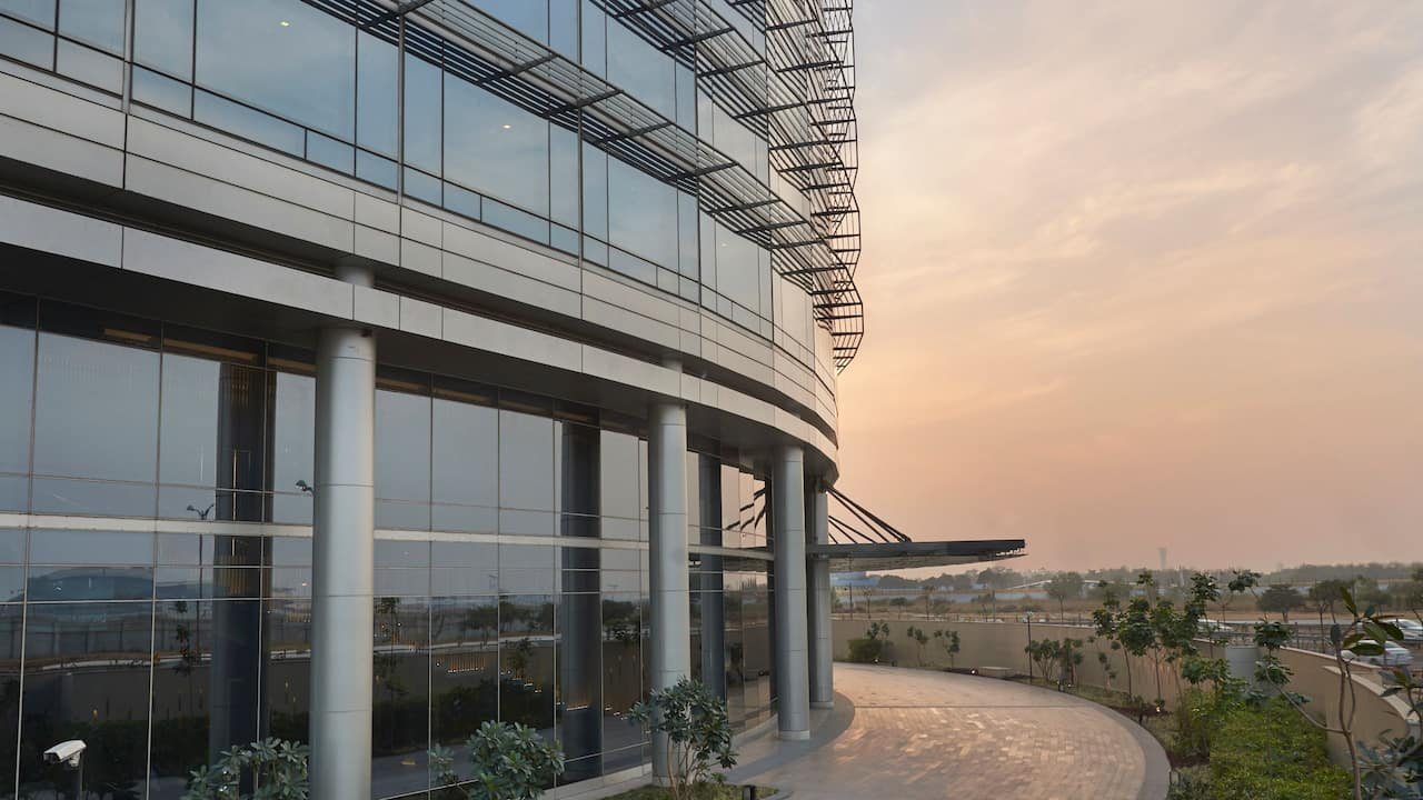 Andaz Delhi Facade of best 5 Star Lifestyle Luxury hotel in Delhi