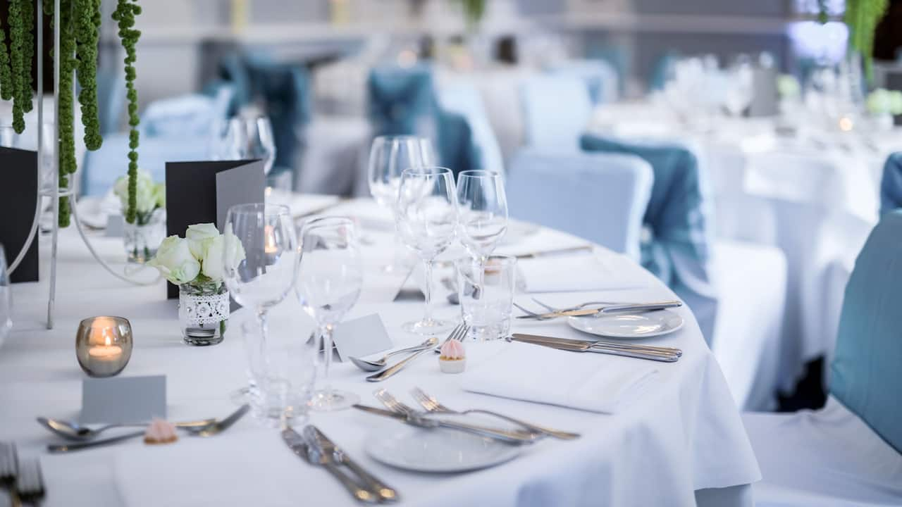 Wedding venue decoration | Andaz London Liverpool Street