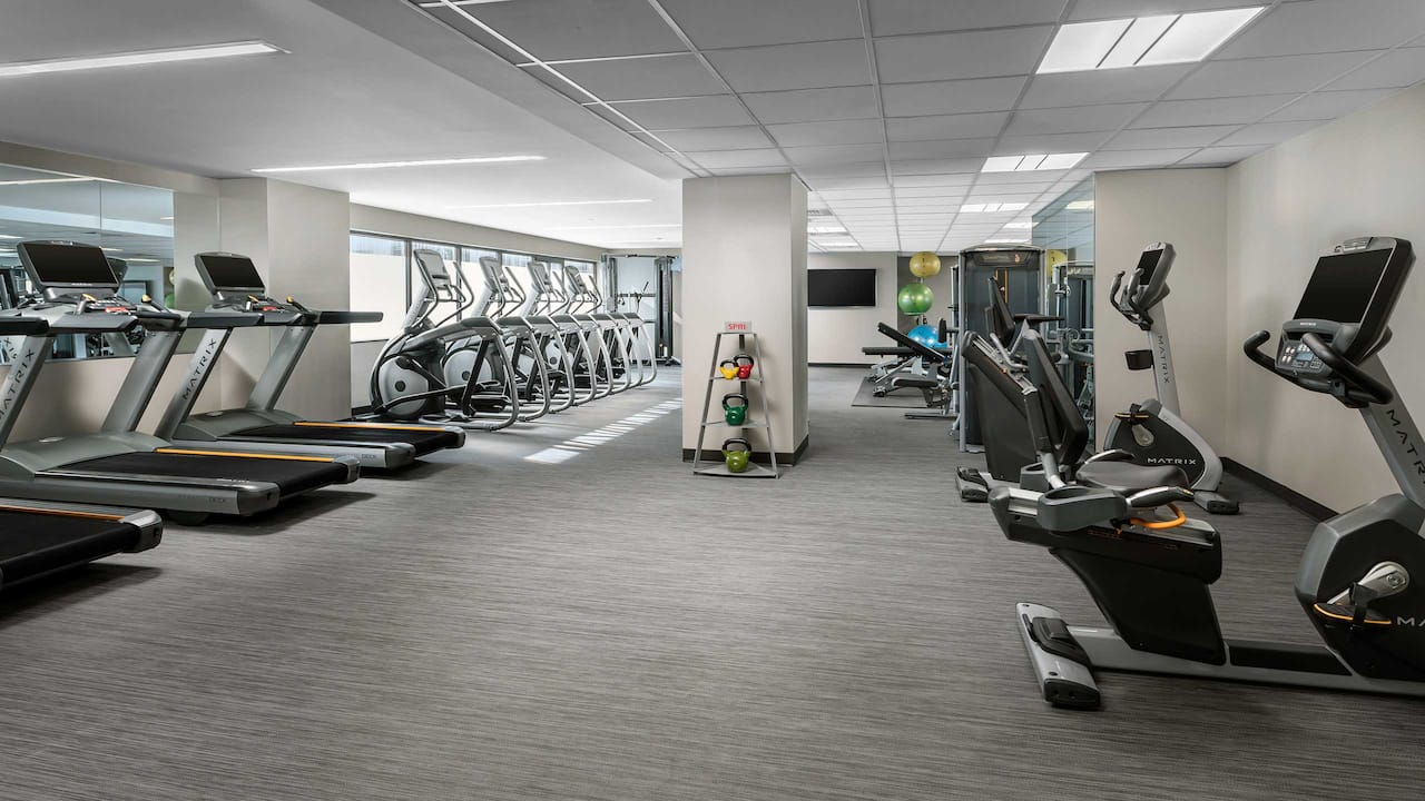 Hyatt Regency Bethesda Fitness Center