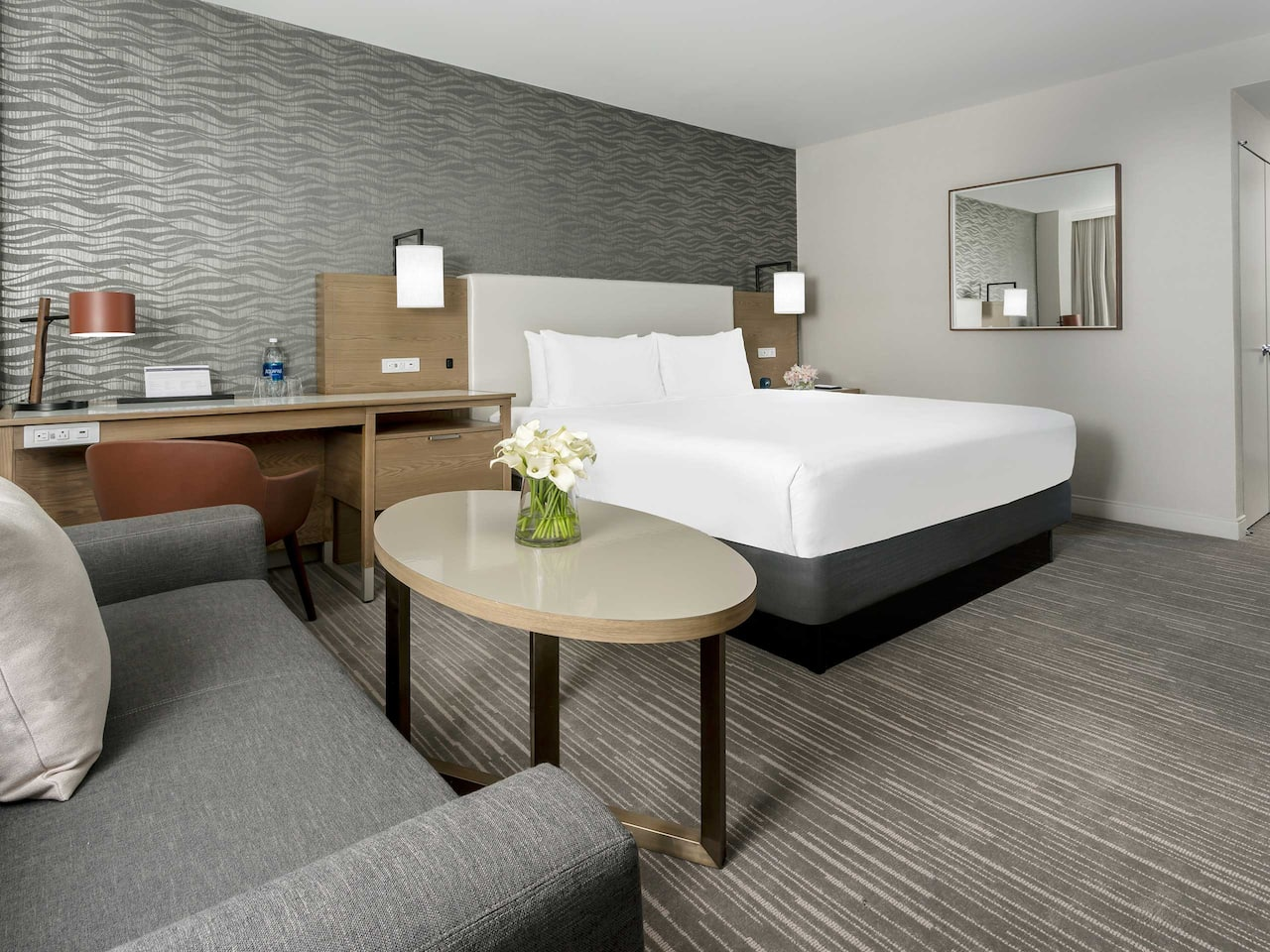 Hyatt Regency Bethesda King Guestroom with Sofa