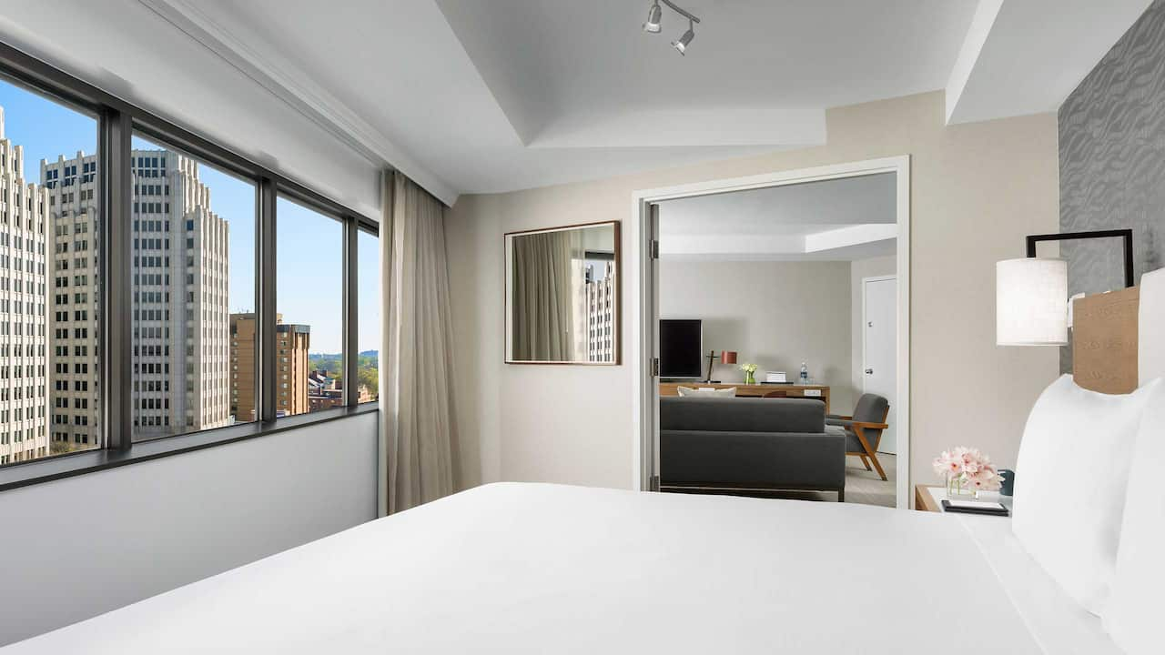 Hyatt Regency Bethesda Executive Suite