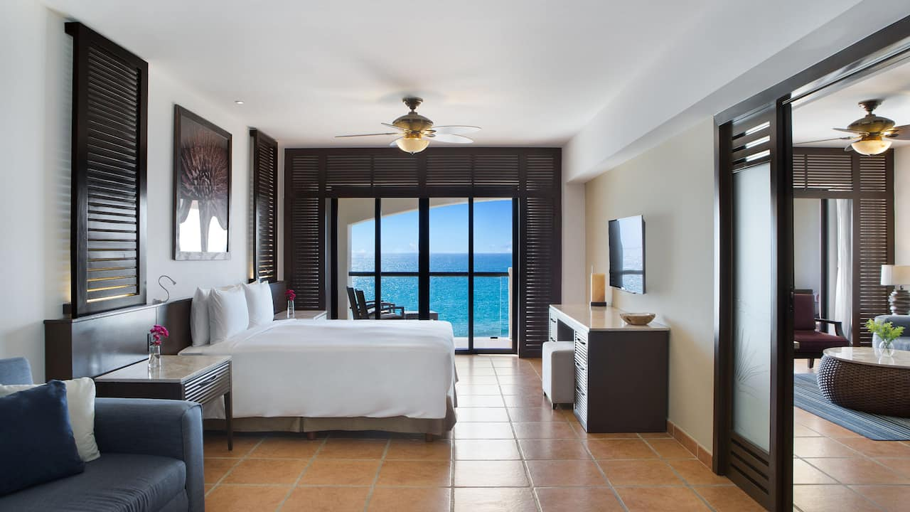 Ocean Front Suite Master Bedroom