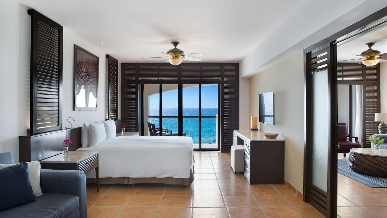 Ocean Front Suite Master Bedroom