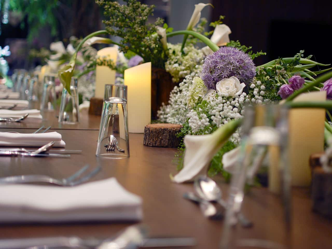 Wedding Flower Arrangements for Hyatt Events