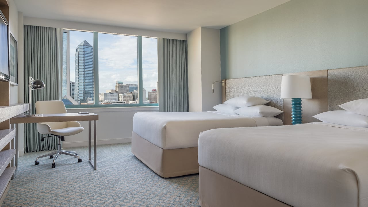 Queen Room City View Hyatt Regency Jacksonville Riverfront
