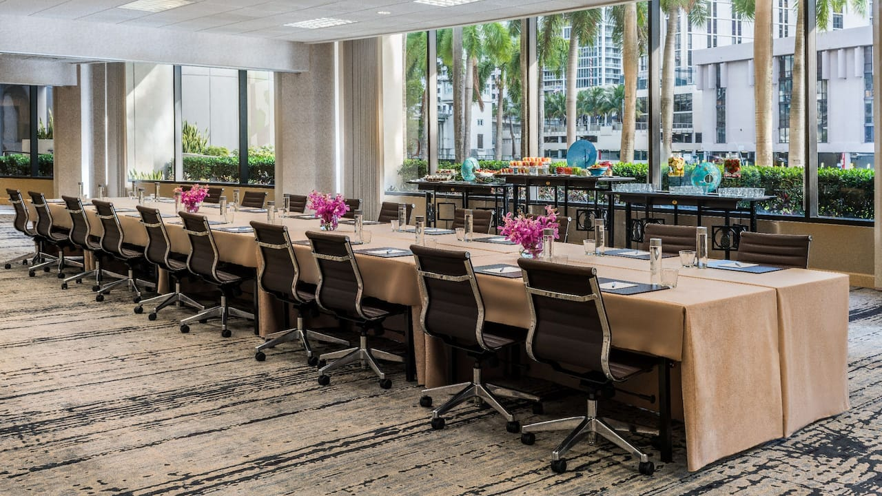 Miami, FL Meeting Space – Orchid Conference – Hyatt Regency Miami