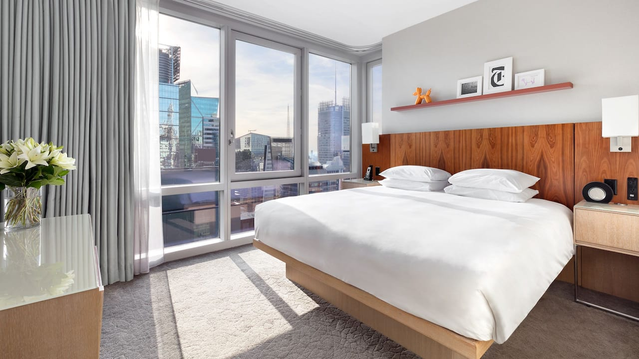 Hyatt Centric Times Square New York Deluxe Suite