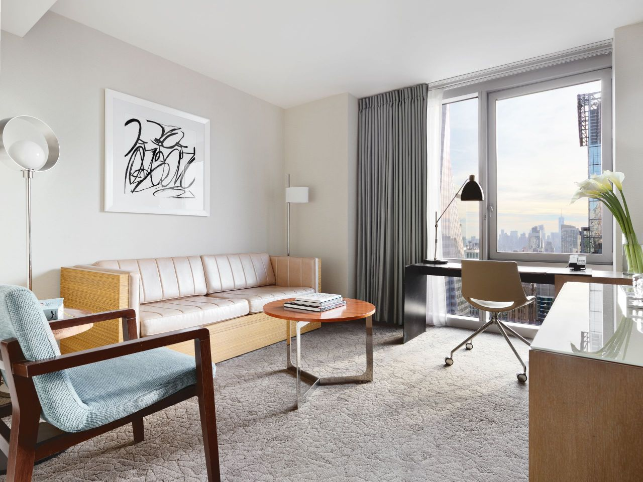 Hyatt Centric Times Square Suite Living Room