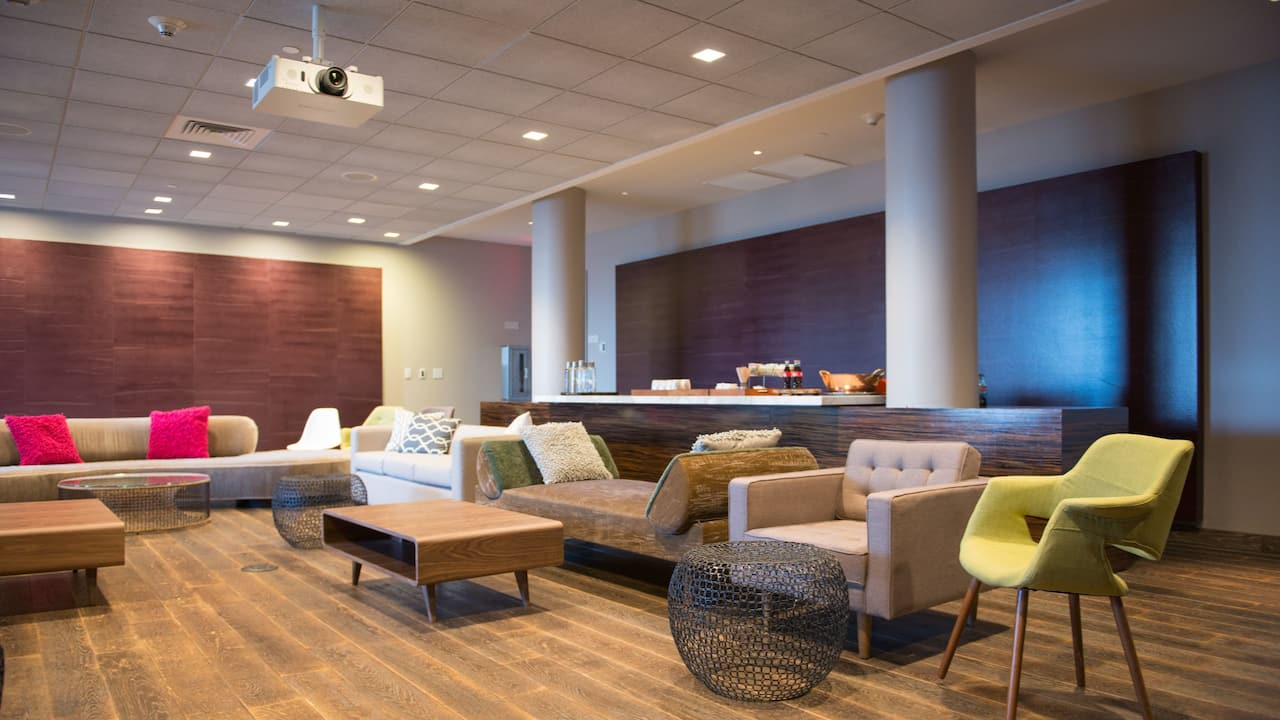 Contemporary Meeting Space Andaz West Hollywood