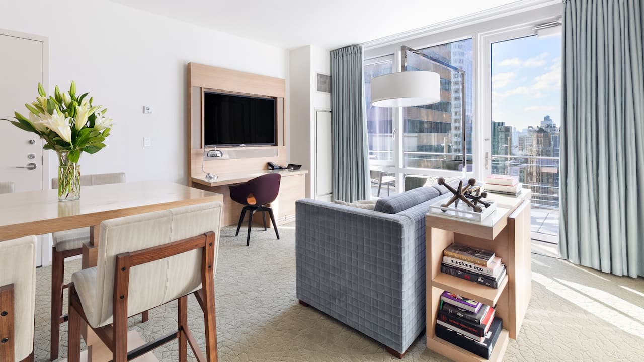 Hyatt Centric Times Square New York Premiere Suite