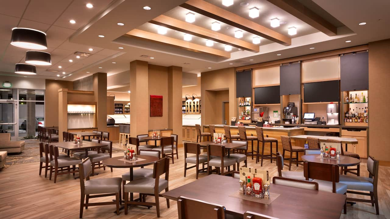 Dining at the Hyatt Place