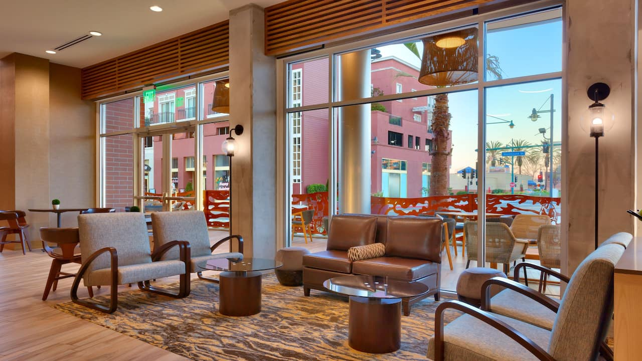 Lobby Seating Area at the Hyatt Place
