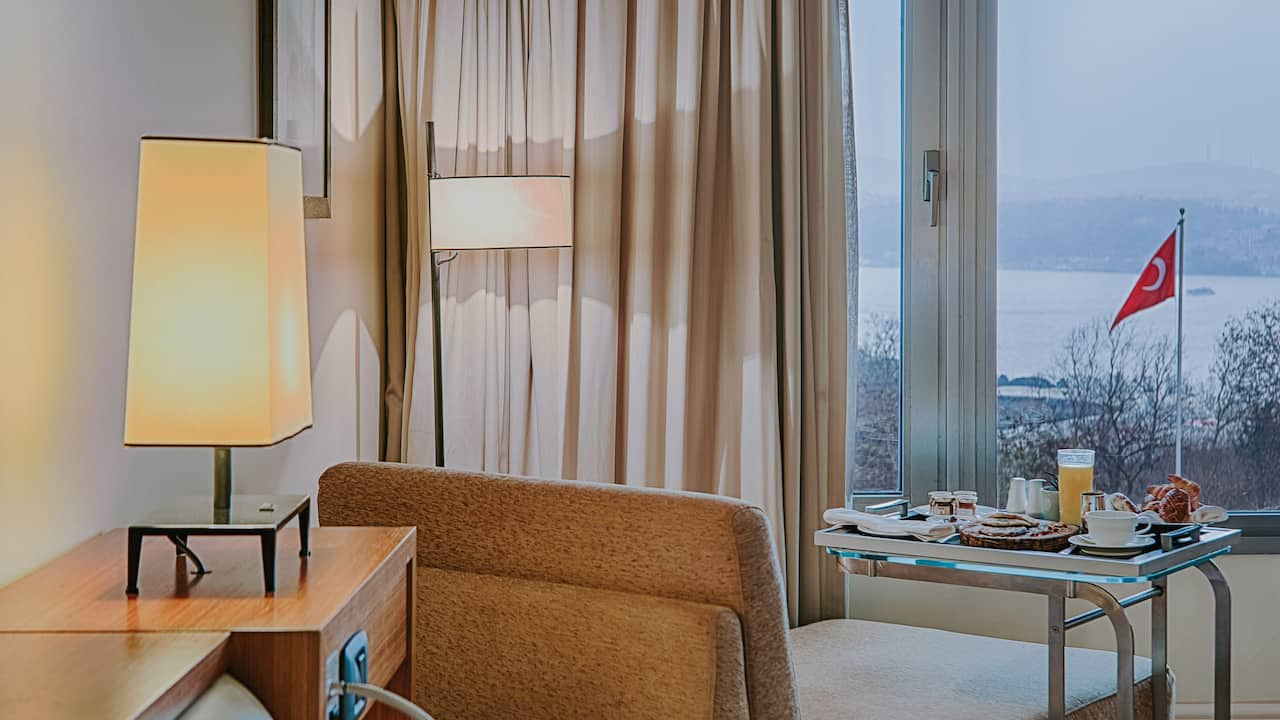 Grand Hyatt Istanbul Two Twin Beds Sea View