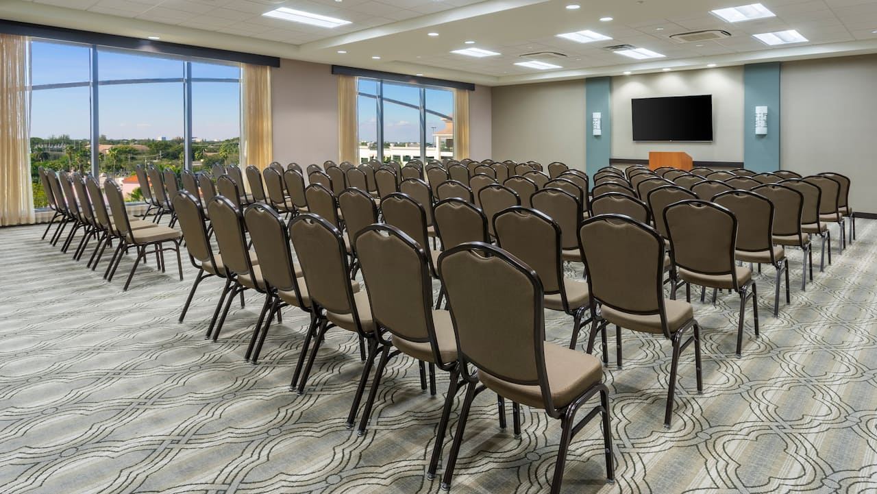 Lecture Set-Up Hyatt Place Boca Raton/Downtown