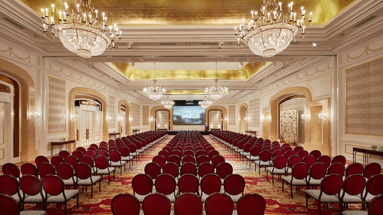 Ballroom Theatre Straight On