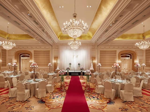 Park Hyatt luxury wedding reception venue, Ho Chi Minh Hotels District 1