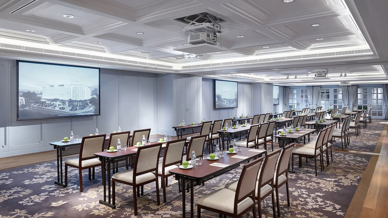 Park Hyatt Saigon Event Venues (the Guest House Classroom Style Setup)