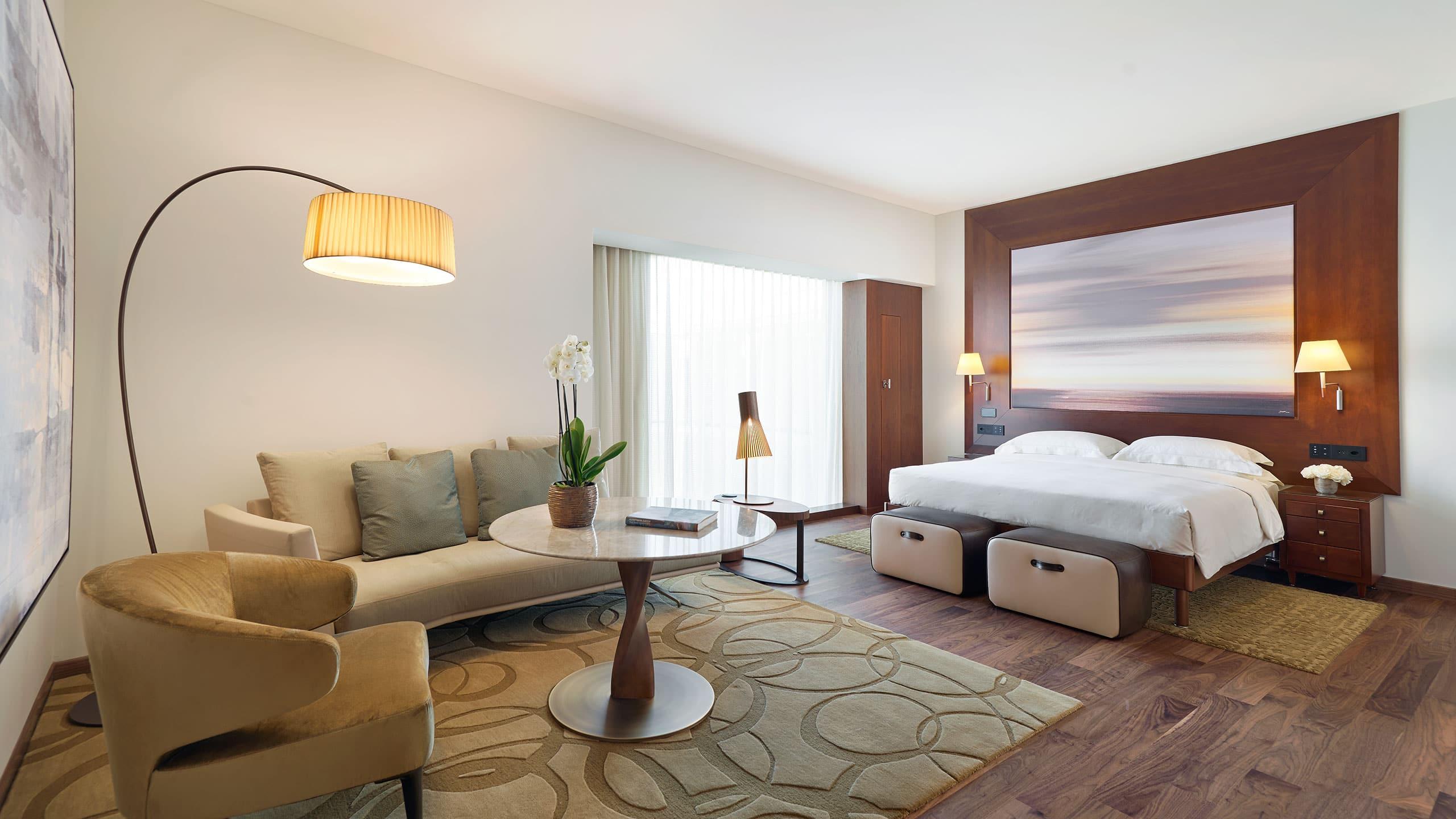 Современный 5 звездочный роскошный отель в Цюрихе Парк Хаятт Цюрих