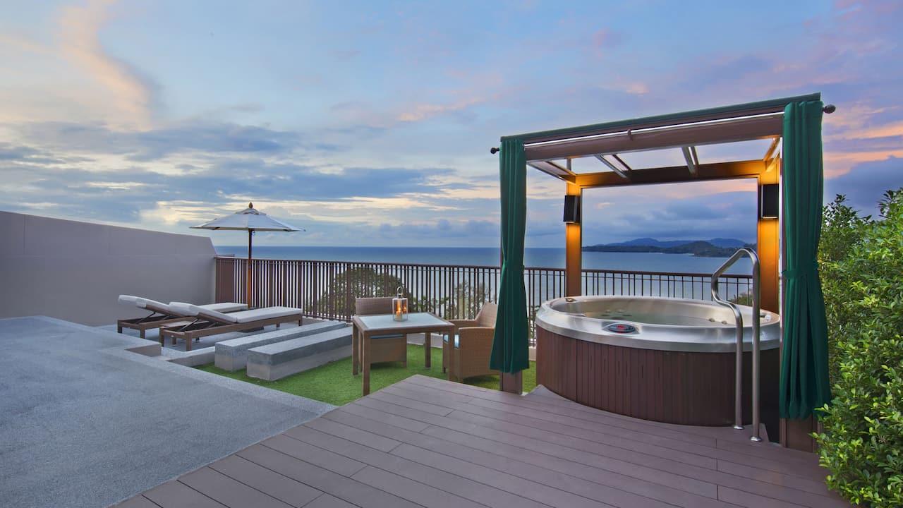 5-star Phuket Hotel in Kamala Beach 1 King Bed with Terrace Hot tub