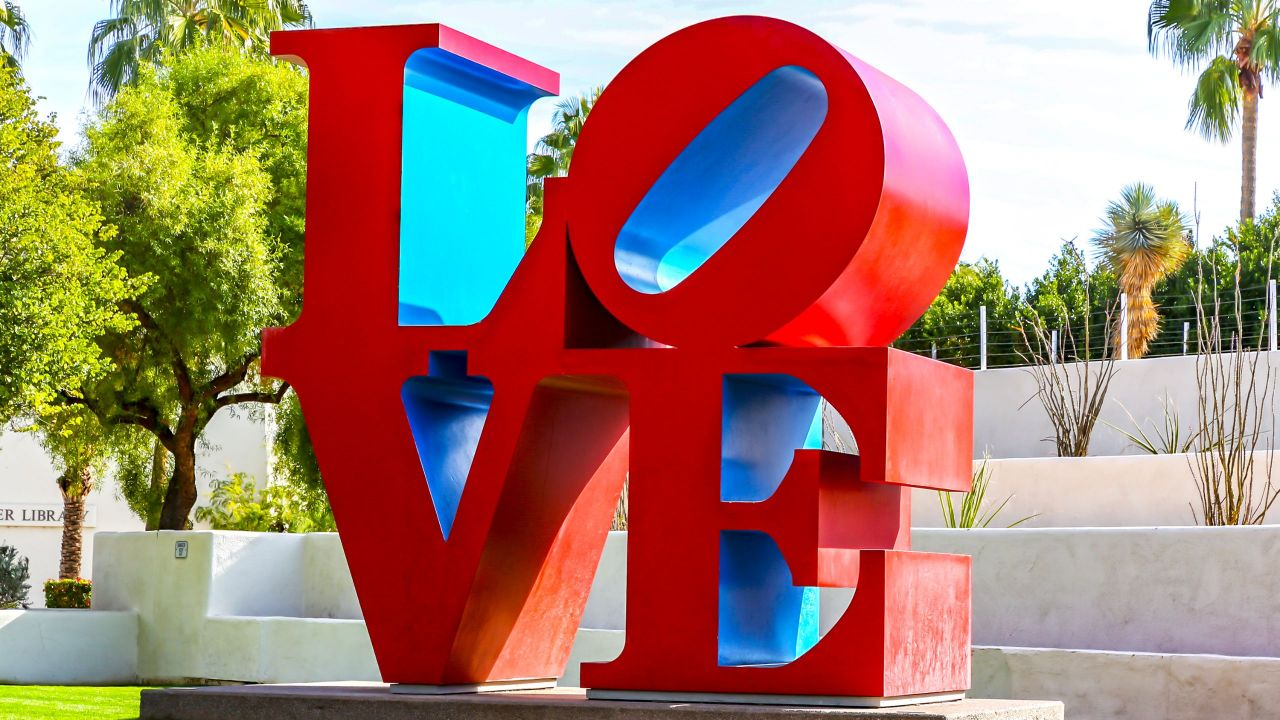 Civic Center Love Sculpture