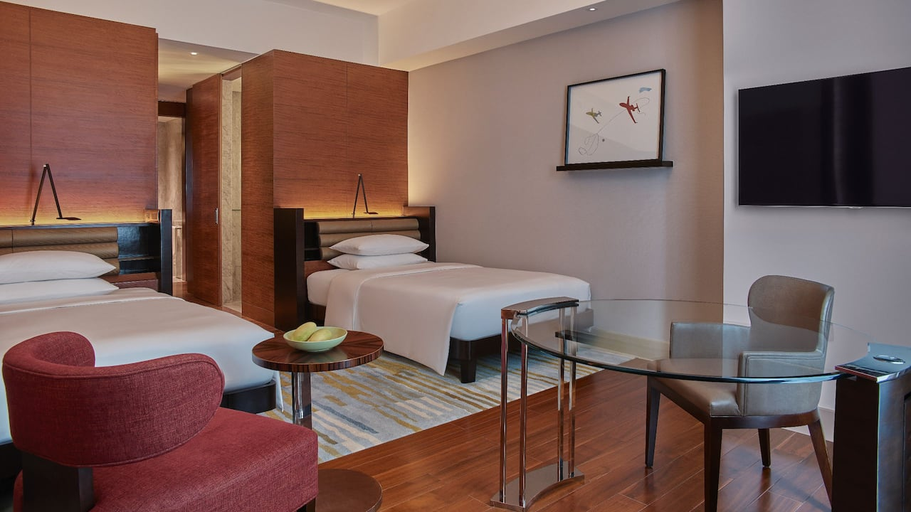 grand hyatt 2 double beds club access deluxe