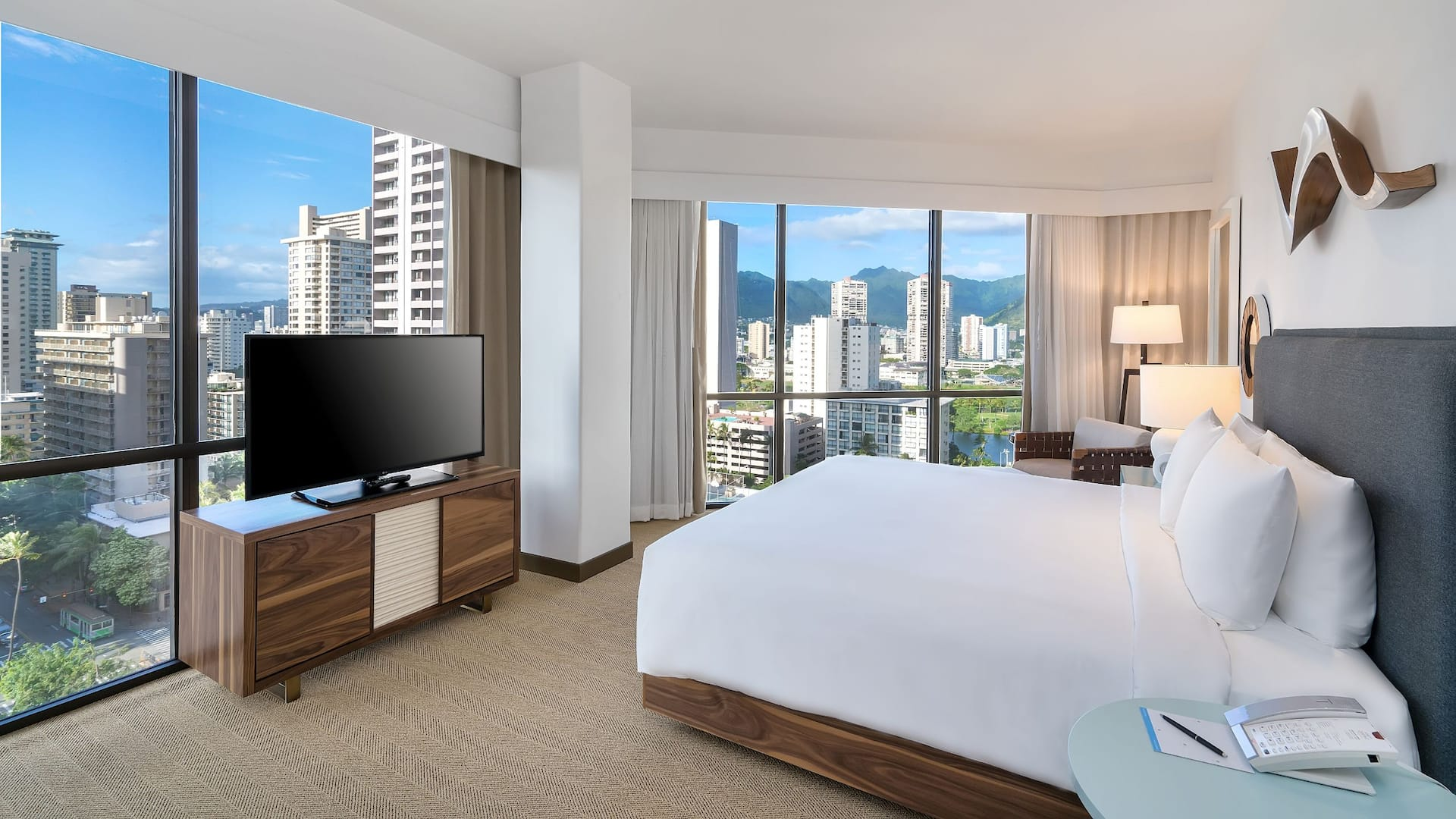 Room with King Bed and Mountain View Hyatt Centric Waikiki Beach