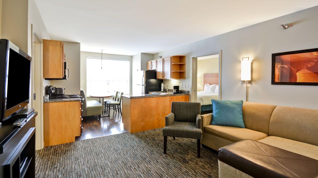 Hyatt House Living Room