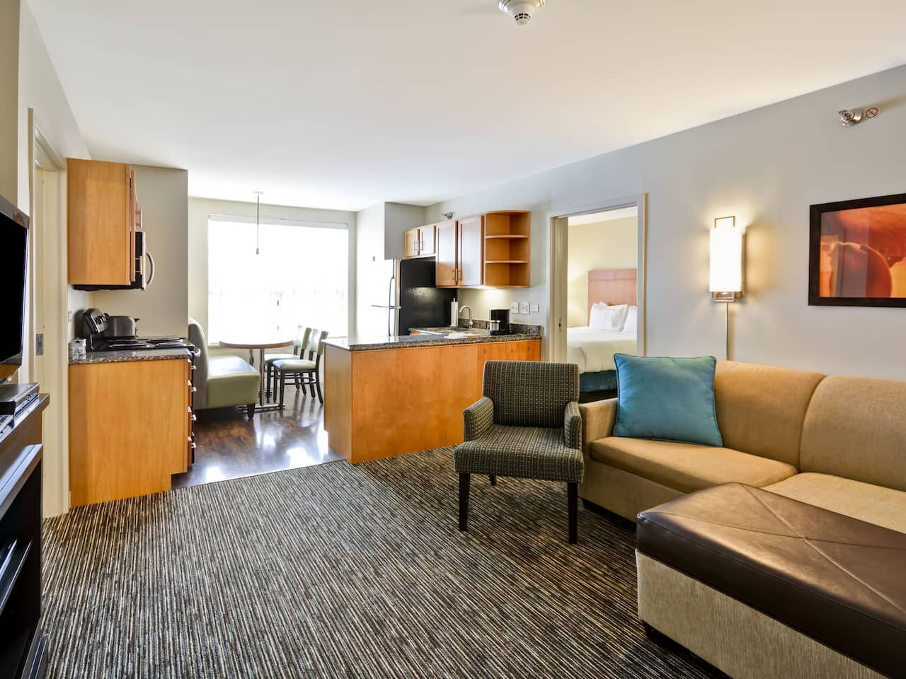 Hyatt House Living Room