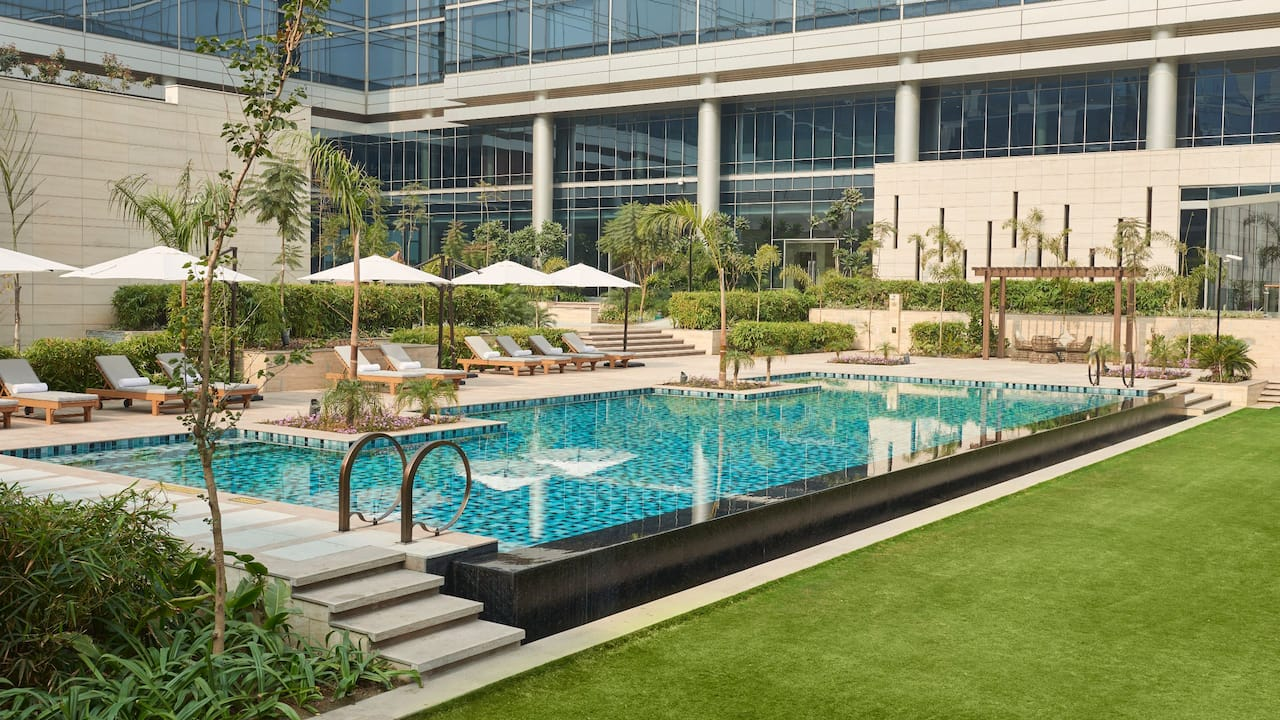 Andaz Delhi Pool - Weekend Getaway from Delhi and Gurgaon